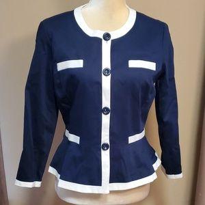Valerie Bertinelli blazer size Medium